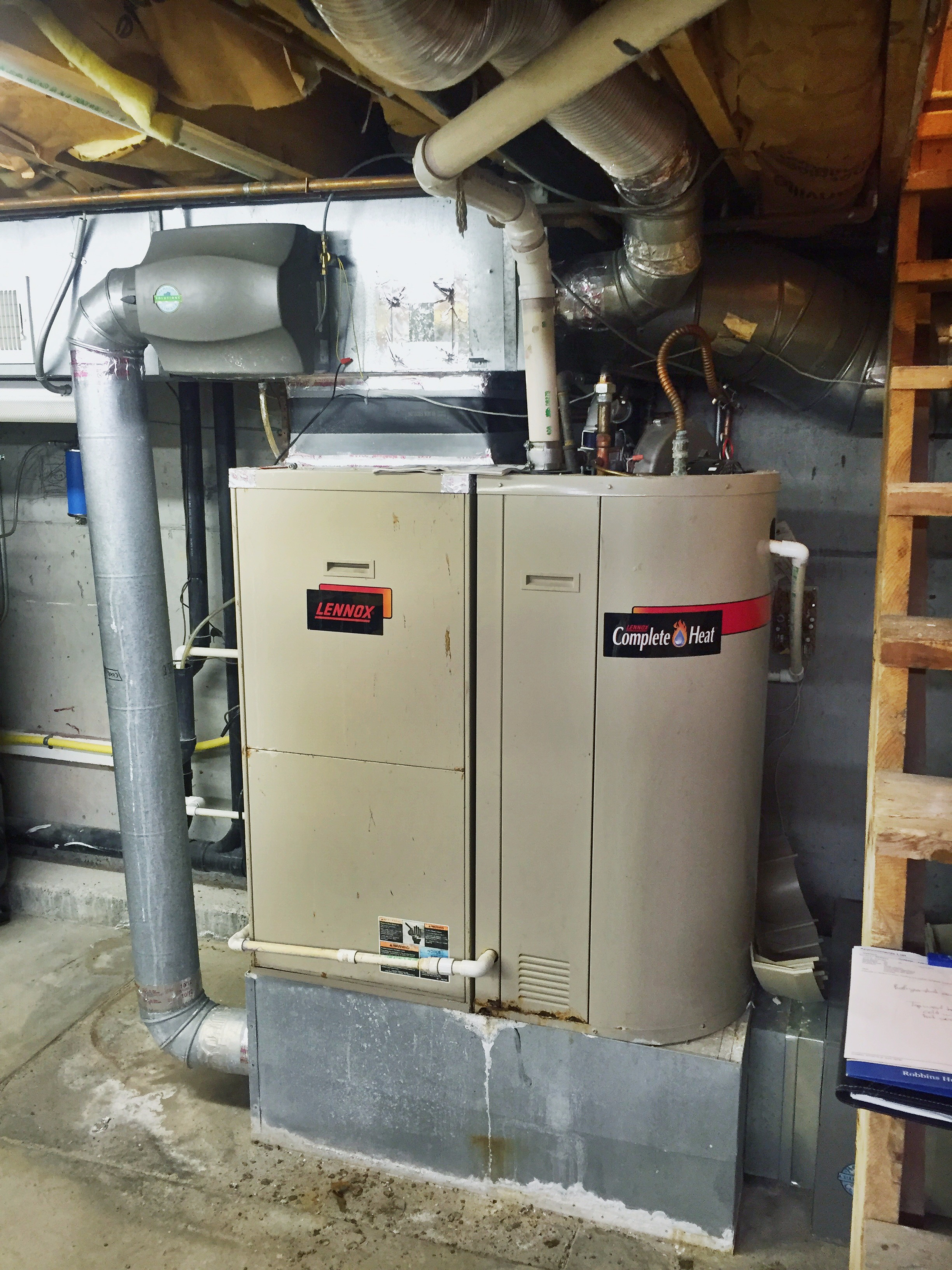 Coleman 95% Efficient Furnace with 16 SEER AC system