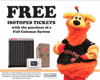 Free Isotopes Tickets | With System Install