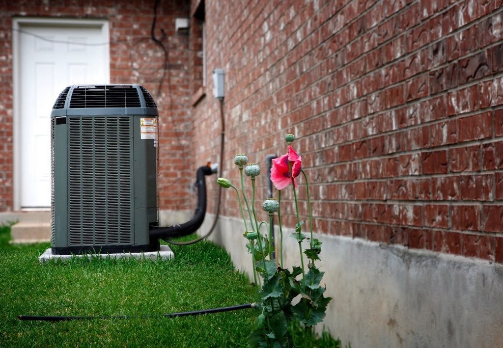 air-conditioning-condenser-flower