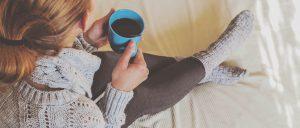 warmth-woman-coffee