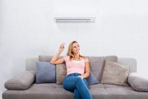 woman-enjoying-heat-pump